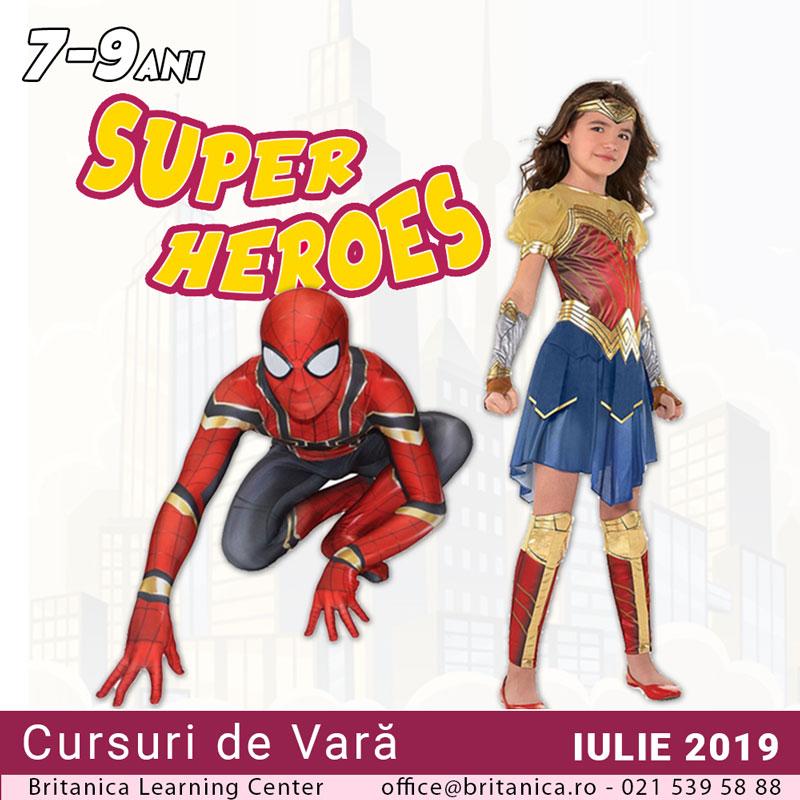 cursuri de vara superheroes